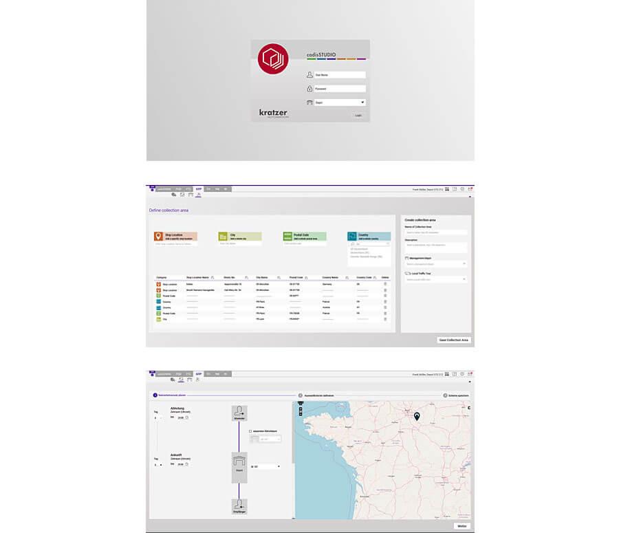 UI Design Logistik